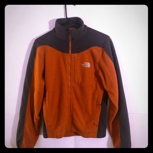 The North Face Orange Jacket mens small